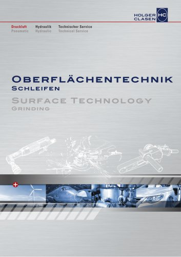Surface Technology - Grinding Tools