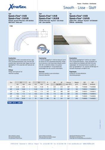 Speed-Flow®-1/H/B