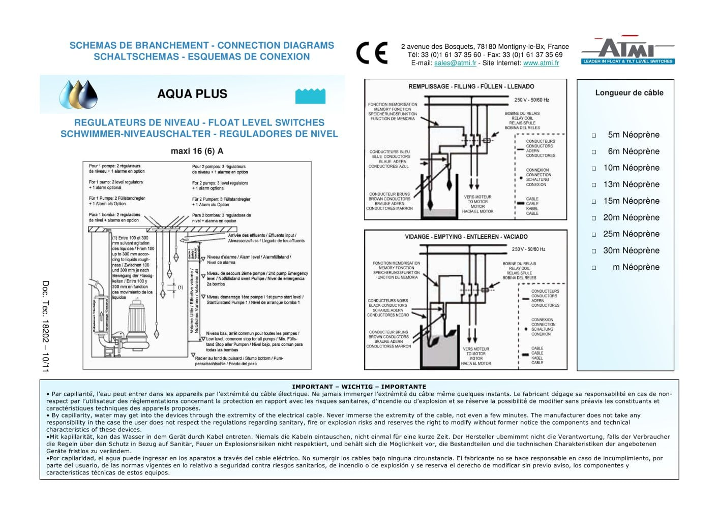 Wiring Diagrams Aqua Plus Atmi Pdf Catalogue Technical For Dummies 1 Pages
