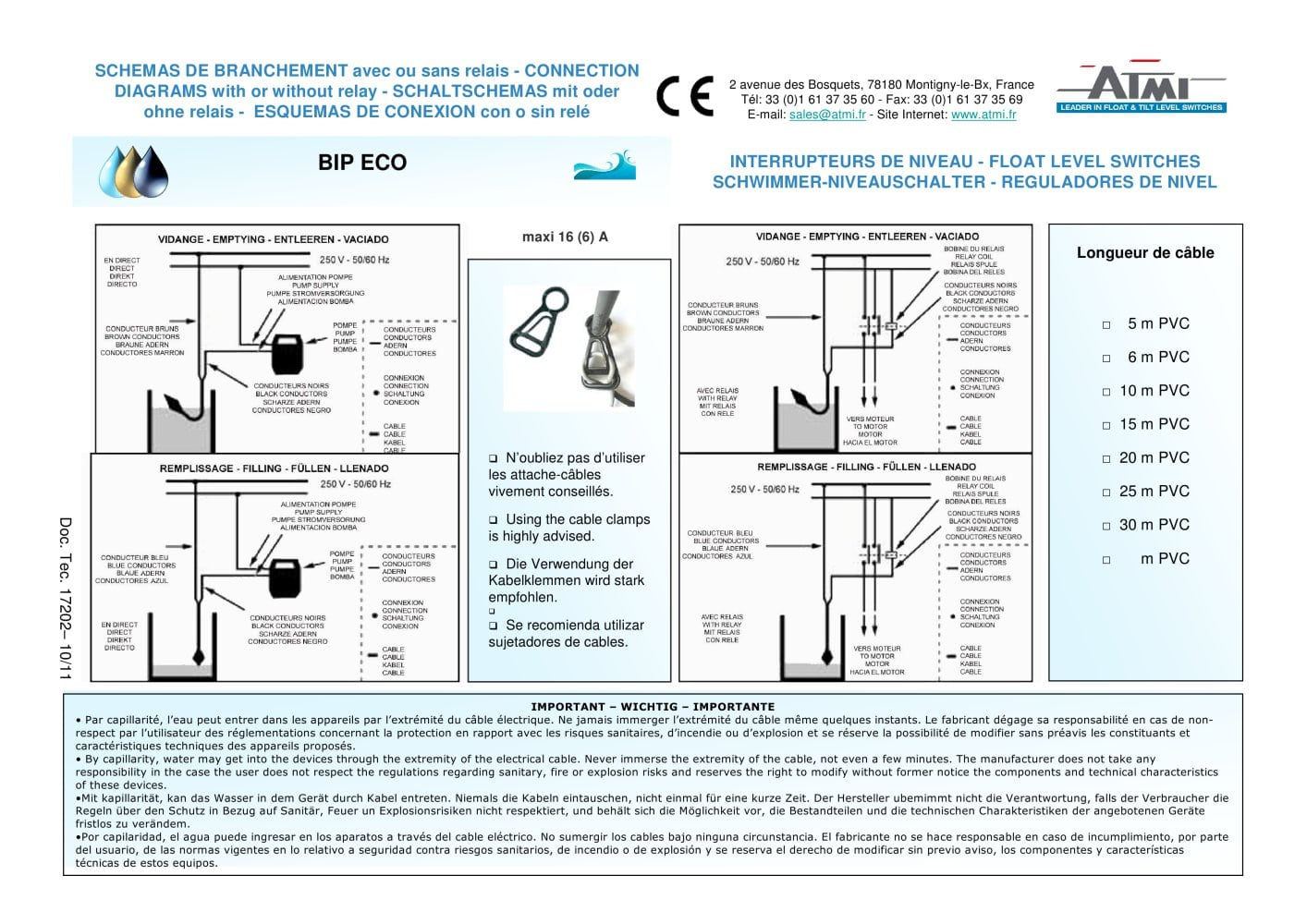 Wiring Diagrams Bip Eco Atmi Pdf Catalogue Technical Electronic Ballast Diagram 1 Pages