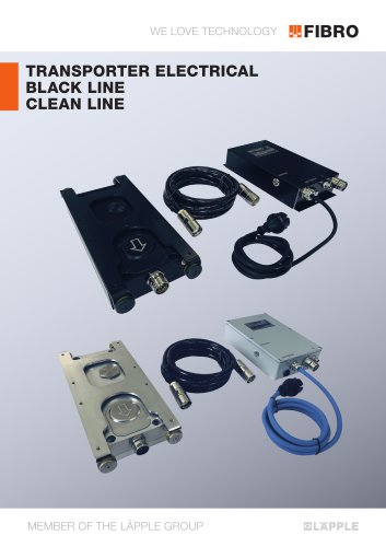 ELECTRIC TRANSPORTER BLACK LINE CLEAN LINE