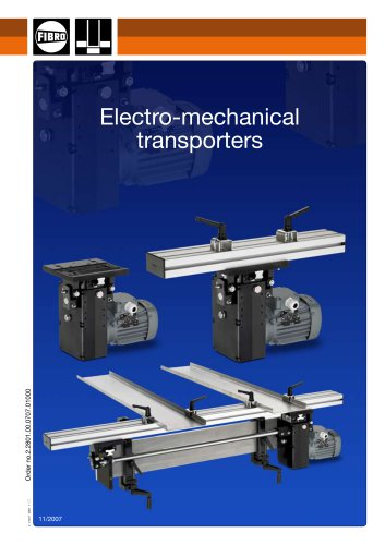 Electro-mechanical transporters