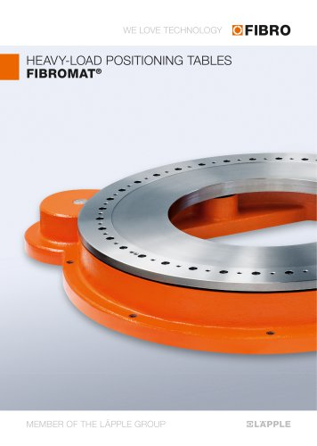 FIBROMAT - A powerhouse with an extremely large centre hole & very flat design at an optimum price