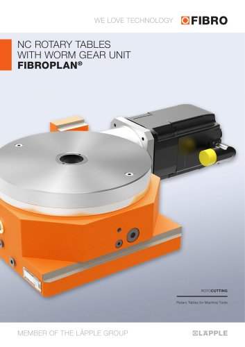 FIBROPLAN  Carefully classified according to style, size and performance data, enabling optimum unit selection