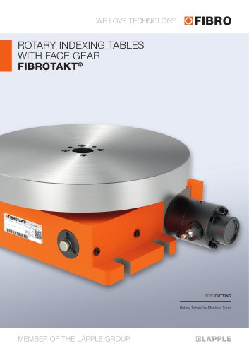 FIBROTAKT - Used as workpiece and tooling equipment carrier or to carry tools