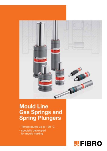 Mould Line Gas Springs and Spring Plungers