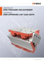 OVERVIEW OEM-APPROVED LIST CAM UNITS