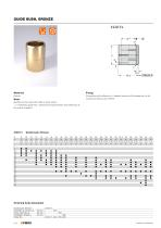 Standard Parts for Mould Making  Guide elements forming / demoulding gas springs for mould making - 16