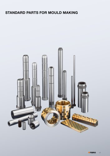 Standard Parts for Mould Making  Guide elements forming / demoulding gas springs for mould making