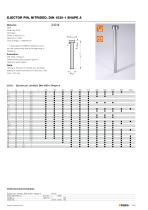 Standard Parts for Mould Making  Guide elements forming / demoulding gas springs for mould making - 27