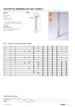 Standard Parts for Mould Making  Guide elements forming / demoulding gas springs for mould making - 31