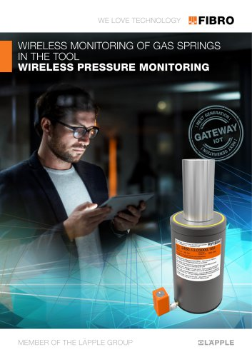 Wireless Pressure Monitoring (WPM) WIRELESS MONITORING OF GAS SPRINGS IN THE TOOL Download PDF Wireless Pressure Monitoring (WPM) WIRELESS MONITORING OF GAS SPRINGS IN THE TOOL