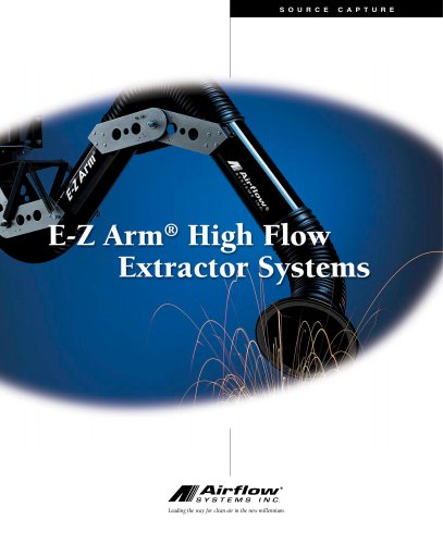 E-Z Arm high Flow Extractor Systems