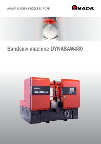 Bandsaw machine DYNASAW430