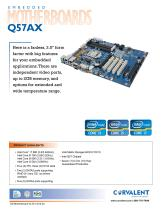 Embeded Motherboards Q57AX