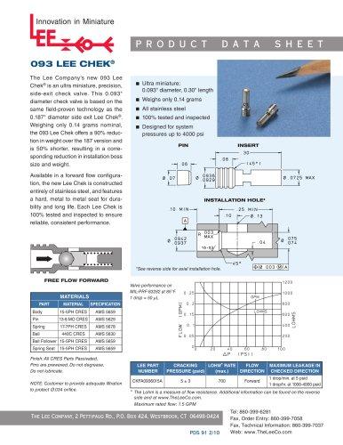 093 LEE CHEK®