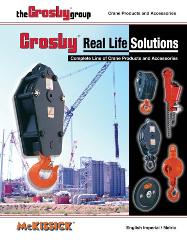 380 McKissick® Crane Products & Accessories