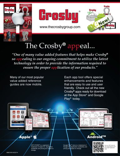 The Crosby® appeal