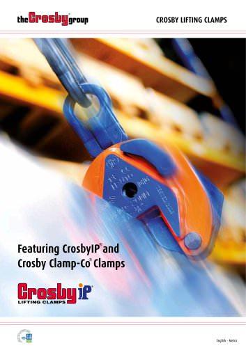 Crosby® Lifting Clamps Brochure