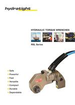 RSL Series: lightweight hydraulic torque wrenches