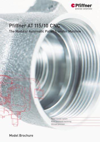 Automatic Pallet Transfer Machine AT 115/10 CNC
