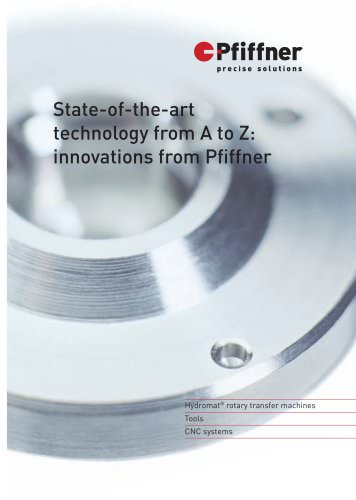 Hydromat - State-of-the-art technology from A to Z: innovations from Pfiffner