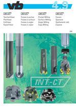 Pocket Milling - Surface Milling - Angle Milling - Copy Milling