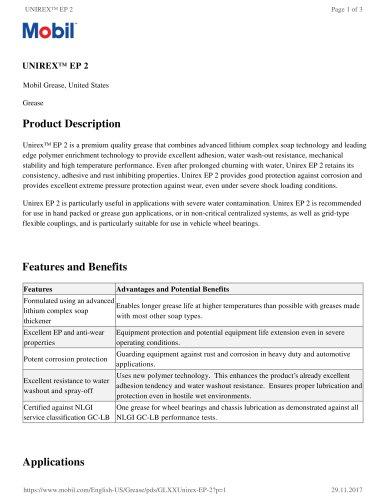 UNIREX™ EP 2