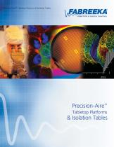 Precision-Aire Tabletop Platforms and Isolation Tables