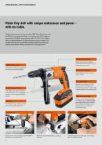 The FEIN drill range for trade and industry - 10