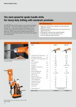 The FEIN drill range for trade and industry - 12