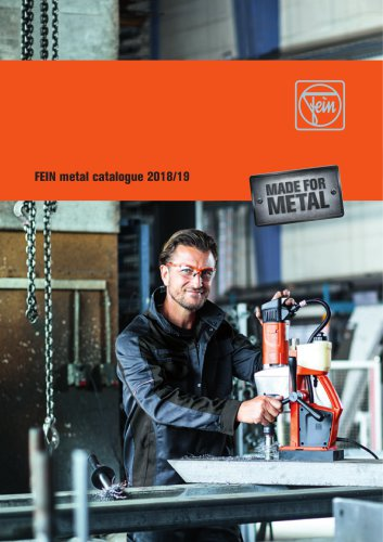 FEIN metal catalogue 2018/19