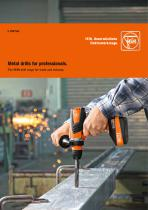 The FEIN drill range for trade and industry