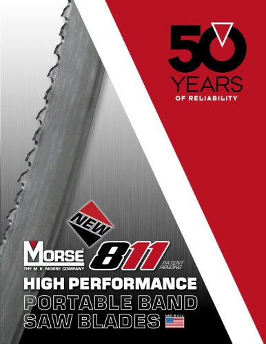M. K. Morse 811 Portable Band Saw Blades