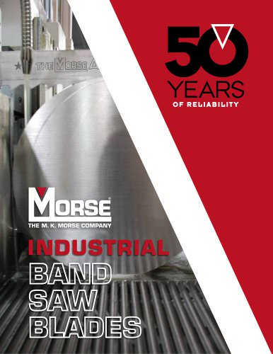 M. K. Morse Industrial Band Saw Blades