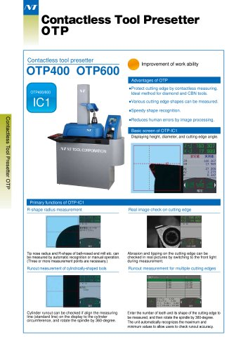Contactless Tool Presetter
