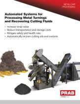 Automated Systems for Processing Metal Turnings and Recovering Cutting Fluids