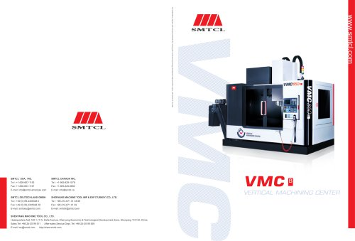 SMTCL Classic Vertical Machine Center for milling VMC-B