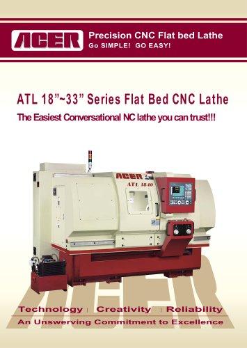 ATL 18?~33? Series Flat Bed CNC Lathe