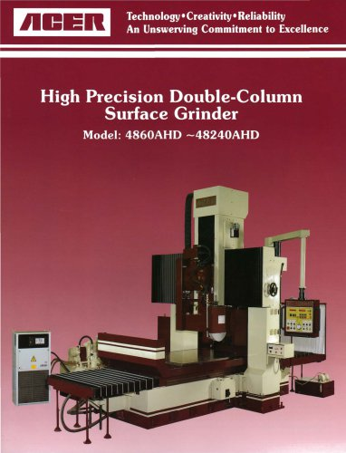 High Precision Double-Column Surface Grinder