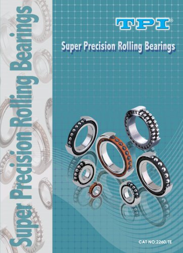 TPI Super Precision Rolling Bearings