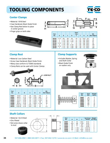 Center Clamps
