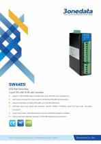 3onedata   SW4485I   RS-232/485 to 4-port RS-485 Hub
