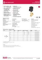 84500/84510 2/2- way seat valves