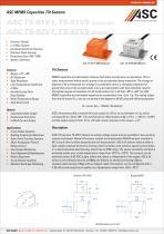 ASC MEMS Capacitive Tilt Sensors
