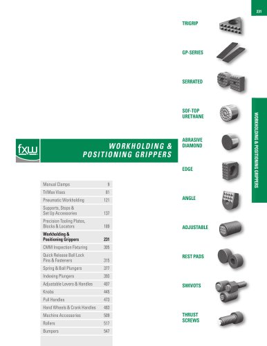 WORKHOLDING & POSITIONING GRIPPERS