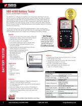 SBS-6500 Battery Resistance Tester
