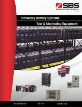 Stationary Battery Systems