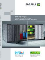 SAFE and FLADAFI ® Hazmat Storage Technology, Room and Material Storage Technology