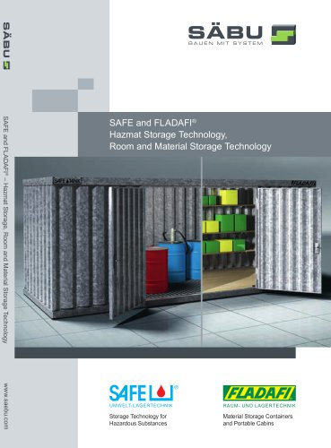 SAFE and FLADAFI ® Hazmat Storage Technology, Room and